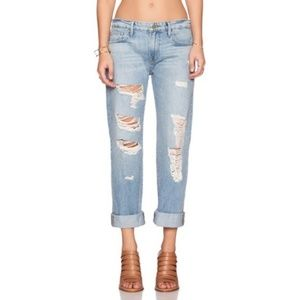 Frame | Distressed Le Grand Garcon Jeans size 24